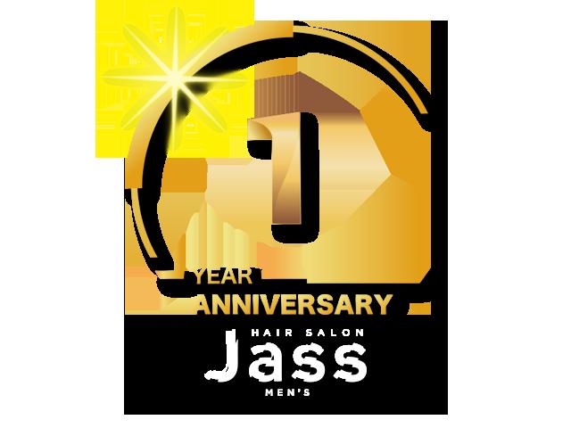 メンズヘアーサロン ジャス 1周年記念スペシャルキャンペーン